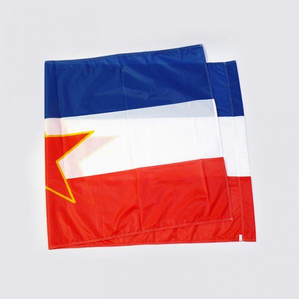Zastava SFRJ - trobojka sa petokrakom istorijske zastave zastaveshop 1