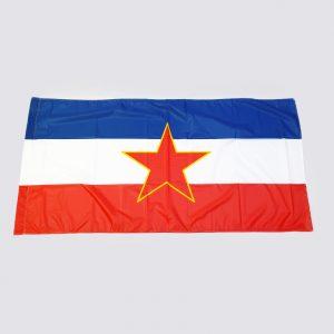 Zastava SFRJ - trobojka sa petokrakom istorijske zastave zastaveshop